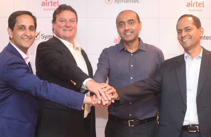 Airtel Symantec Ties to Protect From Cyber Security