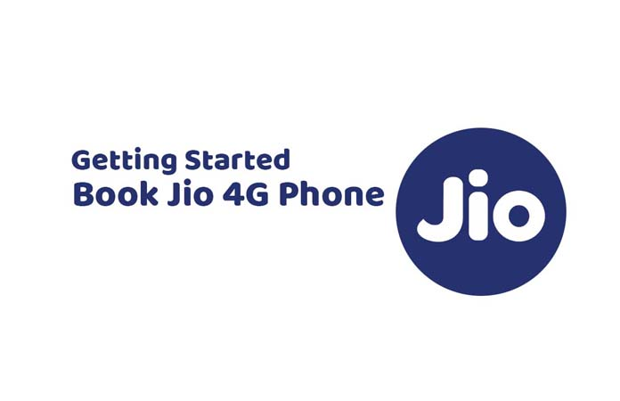 Booking for Jio 4G Phone Started