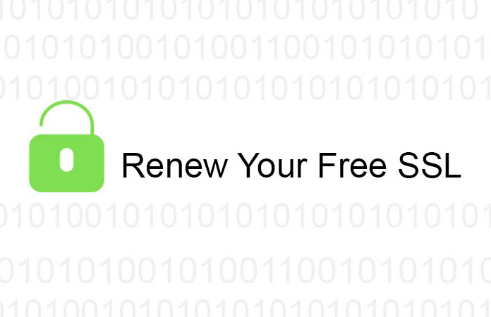 renew your free ssl
